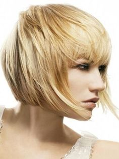 Modern Short Bob Haircut- next hair cut for sure! I'm so close to getting my hair this length... SO CLOSE.