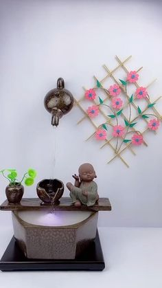 Cool Paper Crafts, Felt Crafts Diy, Paper Flowers Craft, Diy Crafts Hacks, Craft Stick Crafts, Flower Crafts, Kids Crafts, Easy Crafts, Fabric Crafts