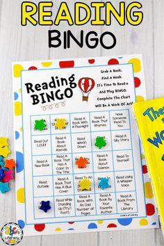 Reading Bingo, Reading Month, Read Across America, Dr. Seuss Birthday, March 2nd, Dr. Seuss Books