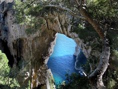 "Montepertuso or ""Hole in the Mountain"" from VBT's Amalfi Coast vacation. #Italy"