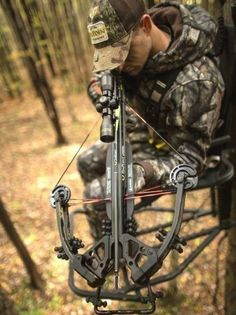 For safety sake, crossbows must be uncocked when the hunting day is done. #turkeyhunting #whitetaildeerhuntingbows