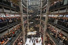 Workers and guests observe a two-minute silence for Armistice Day in the Lloyd's Building on Nov. 11 in London (Leon Neal / Getty Images - NBC news) Pictures Of The Week, Cool Pictures, Cool Photos, World War One, Our World, Armistice Day, Picture Editor, British Soldier, Wipe Out