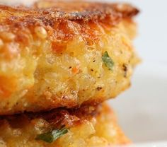 "Quinoa ""burger"" - veg/gluten free. make mini, serve with dollop of guac and pass at parties. threekitcheneers.com"