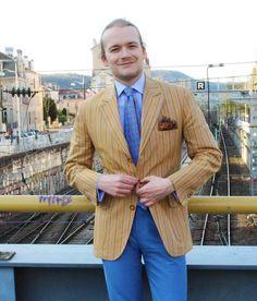 "176 mentions J'aime, 36 commentaires - Romain Pigenel (@romain_pigenel) sur Instagram: ""#TGIF, morning version  [#RomainOTD] Jacket@lagonda_paris|| pocket square & tie @calabrese1924…"""