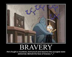 """Bravery"" | Fullmetal Alchemist"