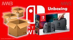 Finalmente arrivata l'ultima e tanto attesa console di casa Nintendo, Nintendo Switch, contenuto della scatola e prima accensione. Unboxing ITA