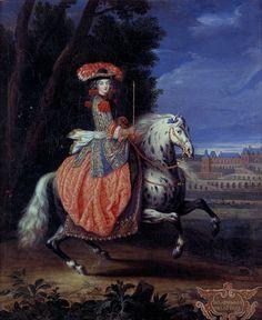 1670s Joseph Parrocel - Marie Isabelle Gabrielle Angelique de Lamotte-Houndancourt