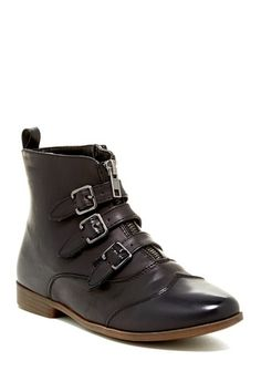 Restricted Buxton Buckle Wingtip Bootie by Assorted on @HauteLook  gorgeous!
