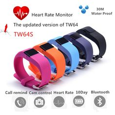 $23.28 (Buy here: alitems.com/... ) Waterproof TW64S Heart Rate Monitor Smart Device Newest Smart CCTV Fitness Tracker Bluetooth 4.0 Reminding For IOS & Android for just $23.28 Women's Running Gadgets... http://www.ebay.com/sch/i.html?_from=R40&_trksid=p4712.m570.l1313.TR6.TRC1.A0.H0.Xsmart+watch+for+women.TRS1&_nkw=smart+watch+for+women&_sacat=0&rmvSB=true