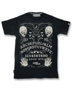 Liquor Brand T-Shirt Ouija Oldschool,Rockabilly,Biker,Tattoo,Custom Clothing Sty