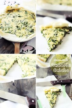 Quiche Ruccola