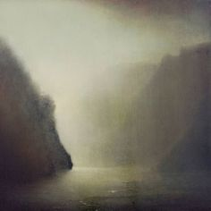 "Artist: Richard Whadcock; Oil 2013 Painting ""Quietude"""