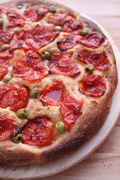 o verdadeiro focaccia Bari Pizza Recipes, Wine Recipes, Focaccia Pizza, Focaccia Recipe, Good Food, Yummy Food, Best Italian Recipes, Quiches, My Favorite Food