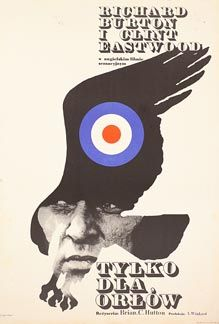 Posteritati: WHERE EAGLES DARE 1972 Polish 23x33