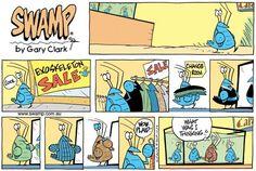 Swamp Cartoons: