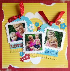 Scrapping with Christine: Favorite Layouts