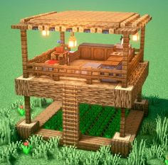 Minecraft House Plans, Minecraft Farm, Minecraft Cottage, Minecraft Mansion, Cute Minecraft Houses, Minecraft House Tutorials, Minecraft House Designs, Amazing Minecraft, Minecraft Construction