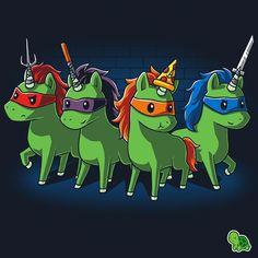 Teenage mutant ninja UNICORNS! - WAIT WHAT