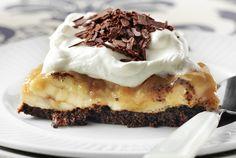 Κολασμένη τούρτα Banoffee Banoffee Cheesecake, Banoffee Cake, Sweets Recipes, Fun Desserts, Cooking Recipes, Greek Sweets, Food Categories, Greek Recipes, Food Porn
