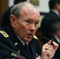 'We are embarrassed,' General Martin Dempsey, the chairman of the Joint Chief of Staff, told reporters at the Pentagon.
