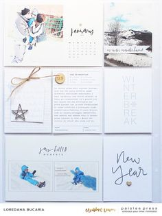 I have used some amazing digitals from Paislee Press, the color palette is just a winter ty Magic Snow, Journal Cards, Journal Ideas, Title Card, Pocket Letters, Simple Stories, Project Life, Winter Wonderland, Cardmaking