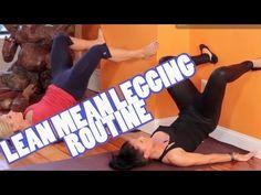 Lean Mean Legging Routine | Pilates Butt Workout – Sarah Fit