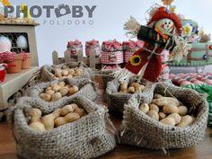 Amendoim com casca  #farm #party #fazenda #fazendinha