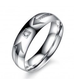 Cheap jewelry polish, Buy Quality jewelry making jump rings directly from China ring jewelry holder Suppliers: OPK His And Hers Promise Wedding Rings Finger Band Stainless Steel JEWELRY Couple Ring Sets Designer Ring For Women Men Promise Rings For Couples, Couple Rings, Rings For Men, Promise Band, Wedding Ring Finger, Wedding Rings, Wedding Band, Finger Band, Engagement Jewelry