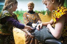 Wonen en leven in Congo - inleefatelier van Studio Globo