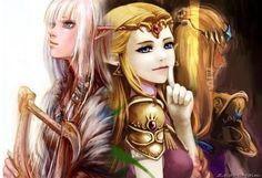 Zelda Transforming Over The Years