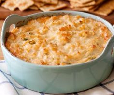 Slow cooker hot curried crab dip is a great dish for a party.Serve it with sliced baguette..