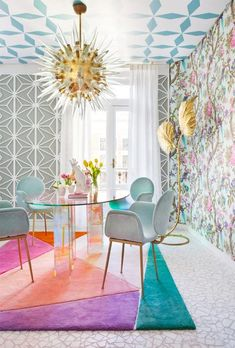 9 Stunning Dining Room Ideas To Take From Casa Decor 2017 - Interior Design Decoration Inspiration, Interior Inspiration, Decor Ideas, Room Inspiration, Inspiration Design, Furniture Inspiration, Casa Decor 2017, Decoracion Vintage Chic, Home And Deco