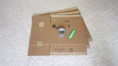 Shirt Folding Board From Cardboard and Duct Tape : 4 Steps (with Pictures) - Instructables Shirt Folding Board, Shipping Boxes, Duct Tape, Diy Hacks, Organizing, Easy Diy, Boards, Pictures, Shirts