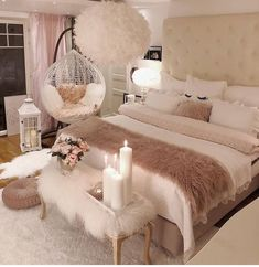 40 Cozy Home Decorating Ideas for Girls' Bedrooms. 40 Cozy Home Decorating Ideas for Girls' Bedrooms Dream Rooms, Dream Bedroom, Pretty Bedroom, Magical Bedroom, Cozy Home Decorating, Decorating Ideas, Decorating Websites, Bedroom Decor For Teen Girls, Cute Bedroom Ideas For Teens