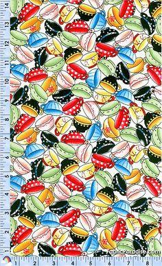 Tea Decadence - Tossed Teacups by Mary Englebreit