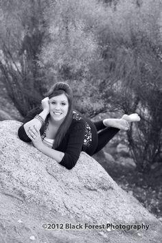 Black & white senior pictures Colorado Springs by http://www.blackforestphoto.com