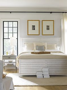 Stanley Coastal Living - Coastal Living Resort - Cape Comber Panel Bed in White.
