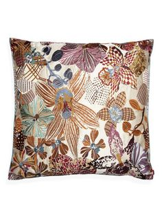Orchidee Mekora Pillow by Missoni Home on Gilt Home; #PinIntoSummer