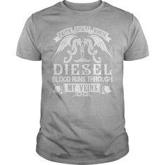 DIESEL Blood - DIESEL Last Name, Surname T-Shirt