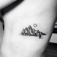 Mountains. | Tattoologist | Bloglovin'