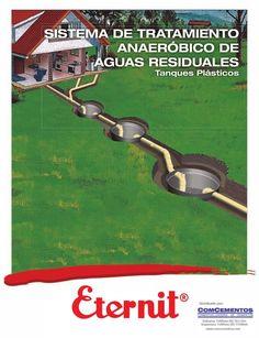 SISTEMA DE TRATAMIENTO        ANAERÓBICO DE      AGUAS RESIDUALES            Tanques Plásticos