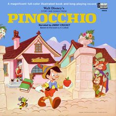 Walt Disney's Story and Songs from Pinocchio-Disneyland Records