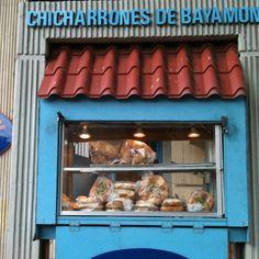 Chicharron de Bayamon con pan de agua... It gets no better