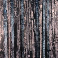 """""""Abstract forest"""", painting"""