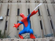 Never fear, Plastimake Spiderman is here!