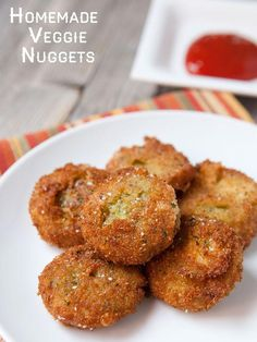 If you are a fan of the frozen vegetarian nuggets, these are for you. They cost just a few bucks and use really fresh, colorful veggies. Fry them, bake them, or freeze them. They are seriously addictive and amazing!