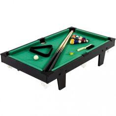 Mini stół bilardowy czarny + akcesoria bilardowe