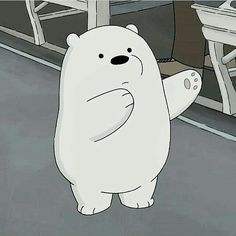 We bare bears Ice Bear We Bare Bears, We Bear, Bear Cartoon, Cartoon Icons, Anime Panda, Bear Meme, We Bare Bears Wallpapers, Cartoon Profile Pictures, Bear Wallpaper