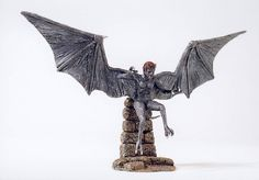 """Another one of Ray's Models.... This time it's one of the HARPIES from """" Jason & the Argonauts."""""""