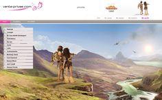 Un paisaje de excepción creado por nuestro equipo de webdesigners para #VPsummerCamp   #venteprivee #webdesign